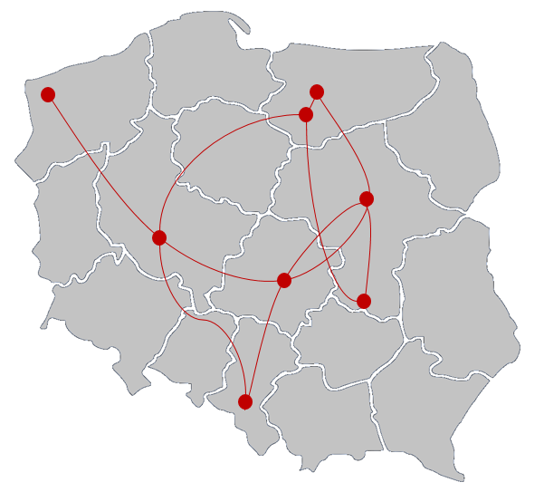 Mapa powiązań (ang. connection map)