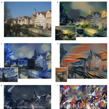 computer vision - style transfer